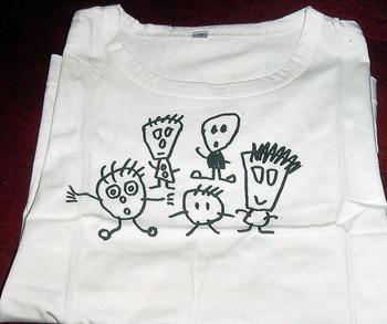 頭足人Tシャツ